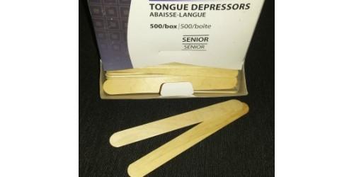 Abaisse-langue en bois